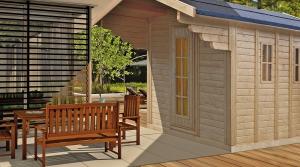 Sauna kaufen Außensauna Gartensauna Saunahaus