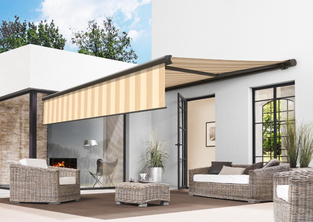 offene gelenkarm markisen my design. Black Bedroom Furniture Sets. Home Design Ideas